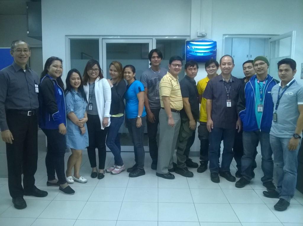 BRC IOP Training at Weener Plastop Asia 1