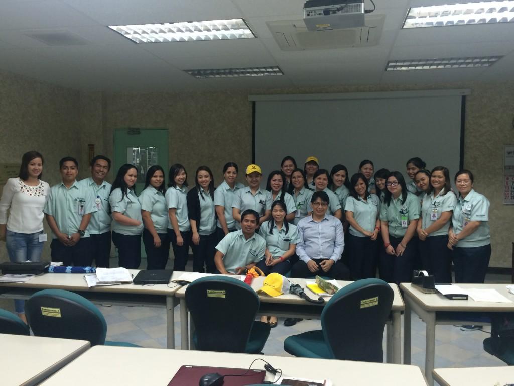 Mitsuba Philippines Measurement System Analysis Training