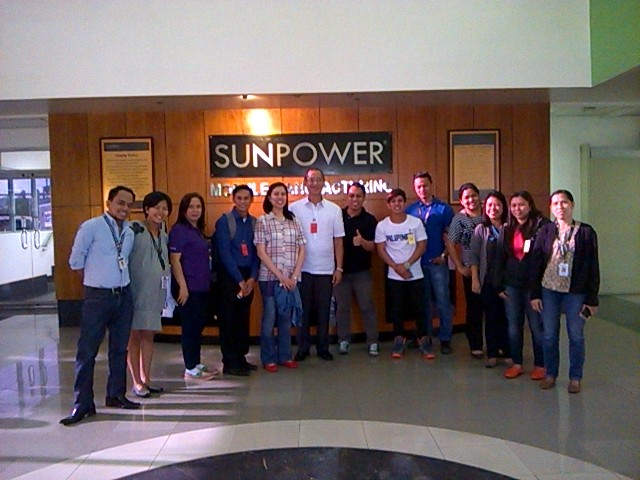 Responsible Recycling Training at Sunpower Philippines Manufacturing Ltd 1